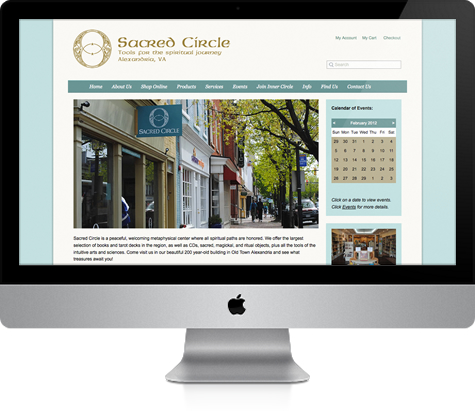 Alexandria Website Design E-commerce